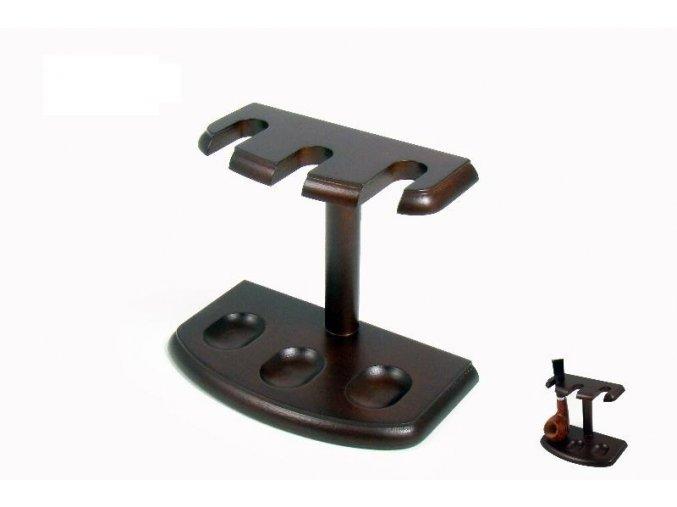 dýmkový stojánek dřevo 3D 703000