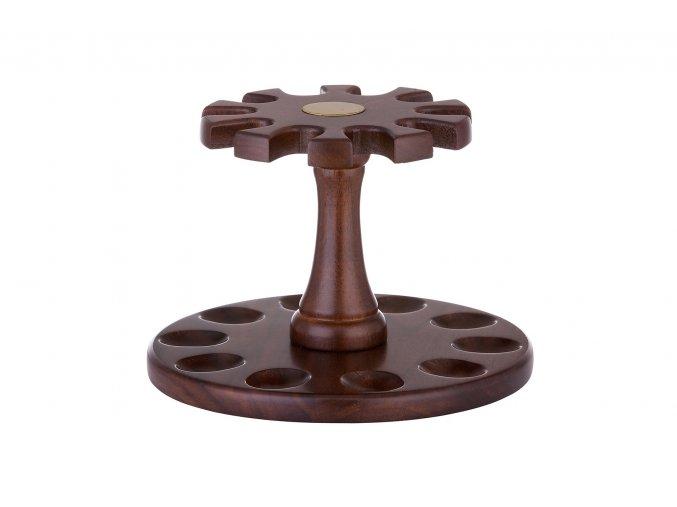 dřevěný stojánek na 10 dýmek 708010
