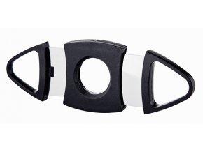 Ořezávač na doutníky - gilotina plast, 2 břity M 500140