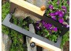 Dřevěný masivní kabelkový klip