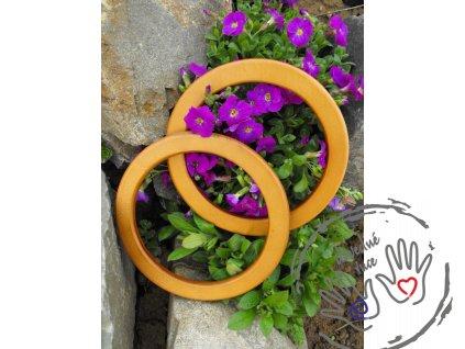 Dřevěná kruhová ucha