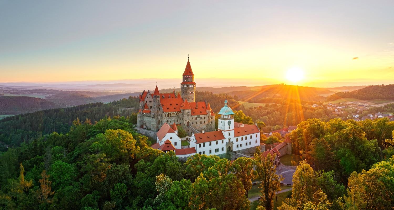 Pohádkový hrad Bouzov – klenot filmařů