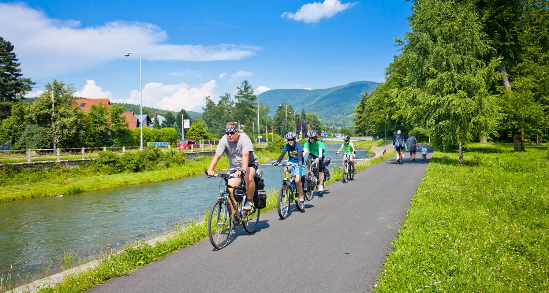 Valašsko - Jízdě na kole zaslíbené