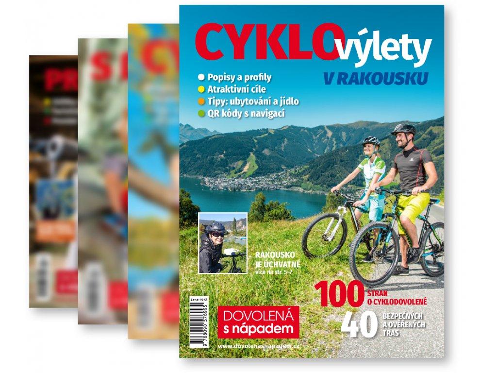 předplatné časopisy 4ks dovolena