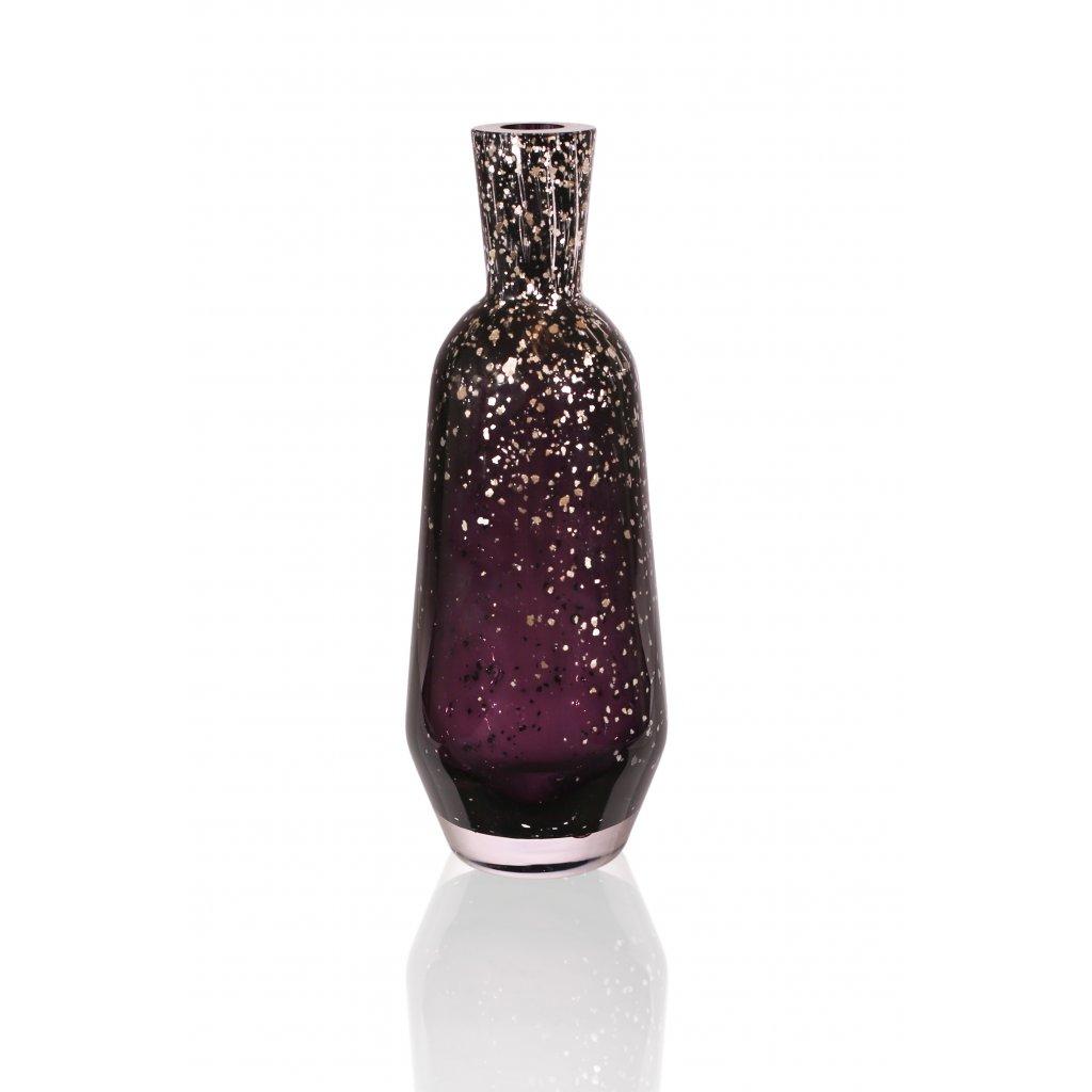 Váza Cut black