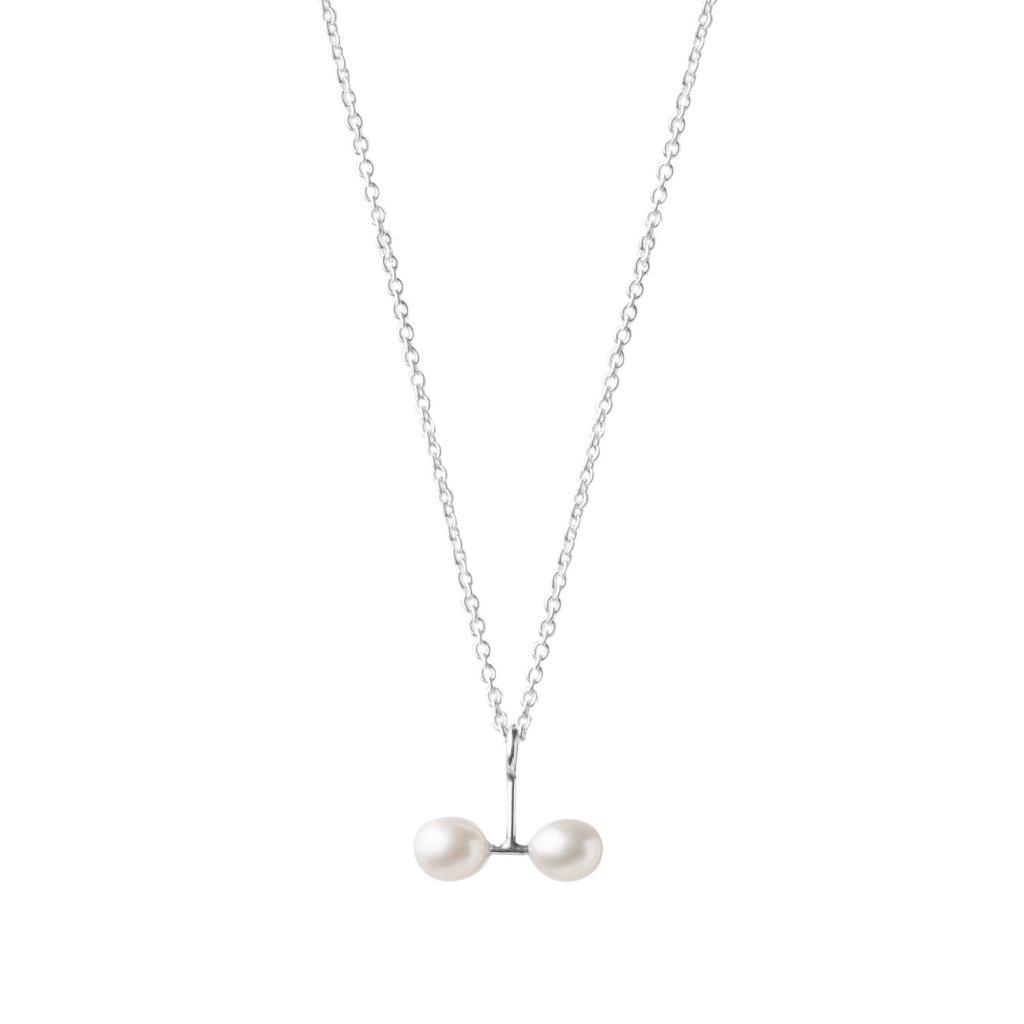 Náhrdelník s dvěma perlami