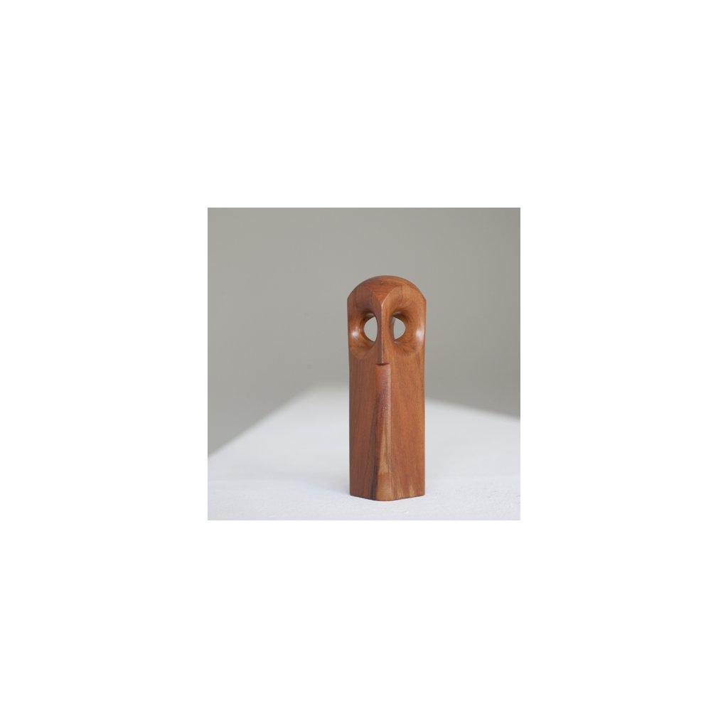 Dřevěná sovička