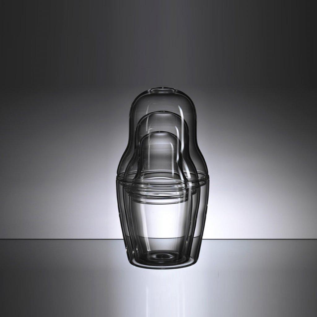 qubus maxim velcovsky matroska set glass 1