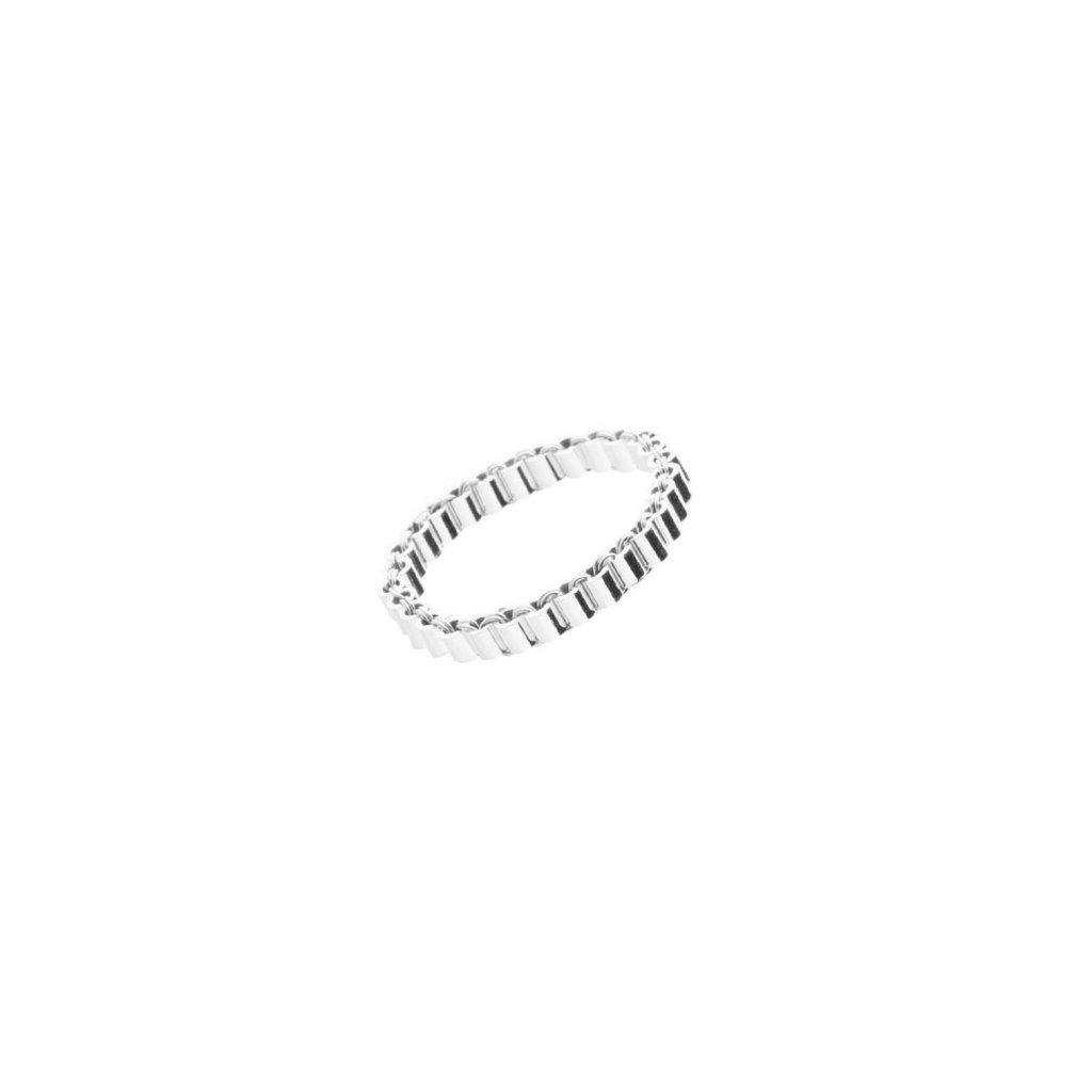 Karla Olsakova Organic ring S flat NURA minimal jewellery shop 5bd0859744143