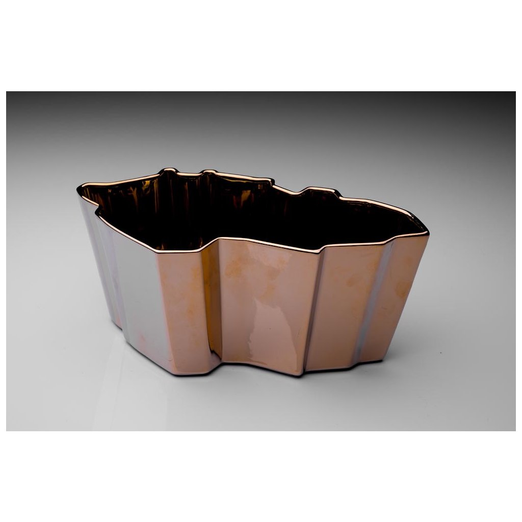 Porcelánová mísa Republic Bowl Gild od Maxima Velčovského