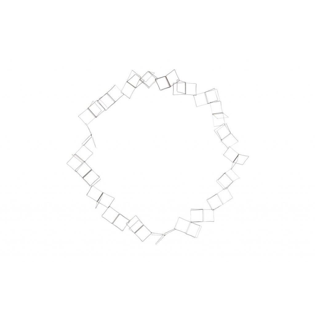 Cube náhrdelník 3D Trojčtverec