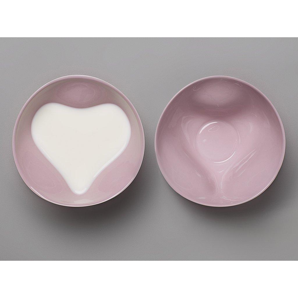 TABLO HEART pink milk1 detail