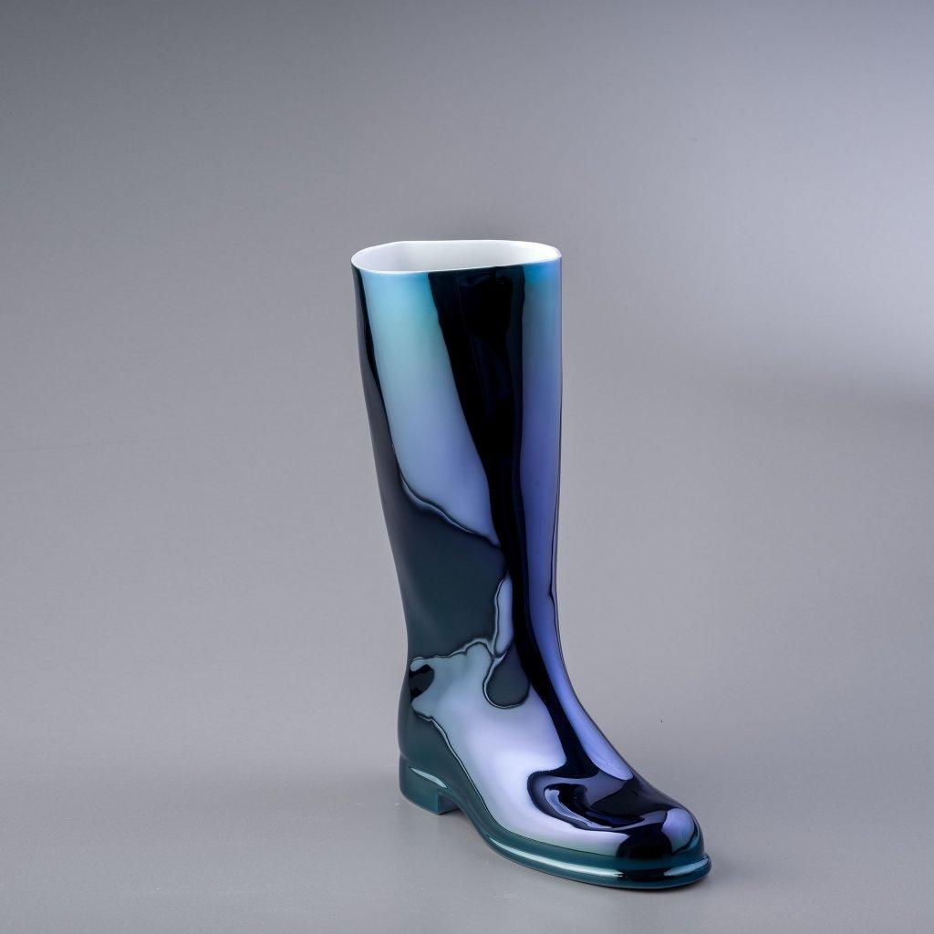 qubus maxim velcovsky waterproof metallic blue right 1