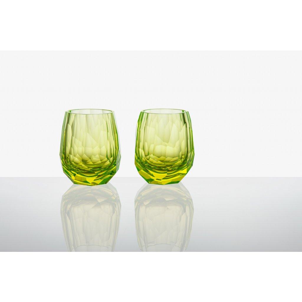Cubism uran glass