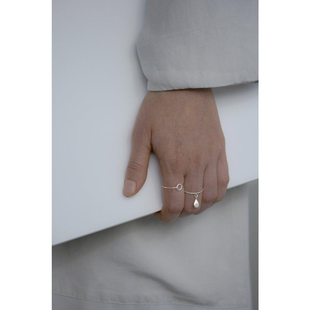 5) bytou circle drop rings