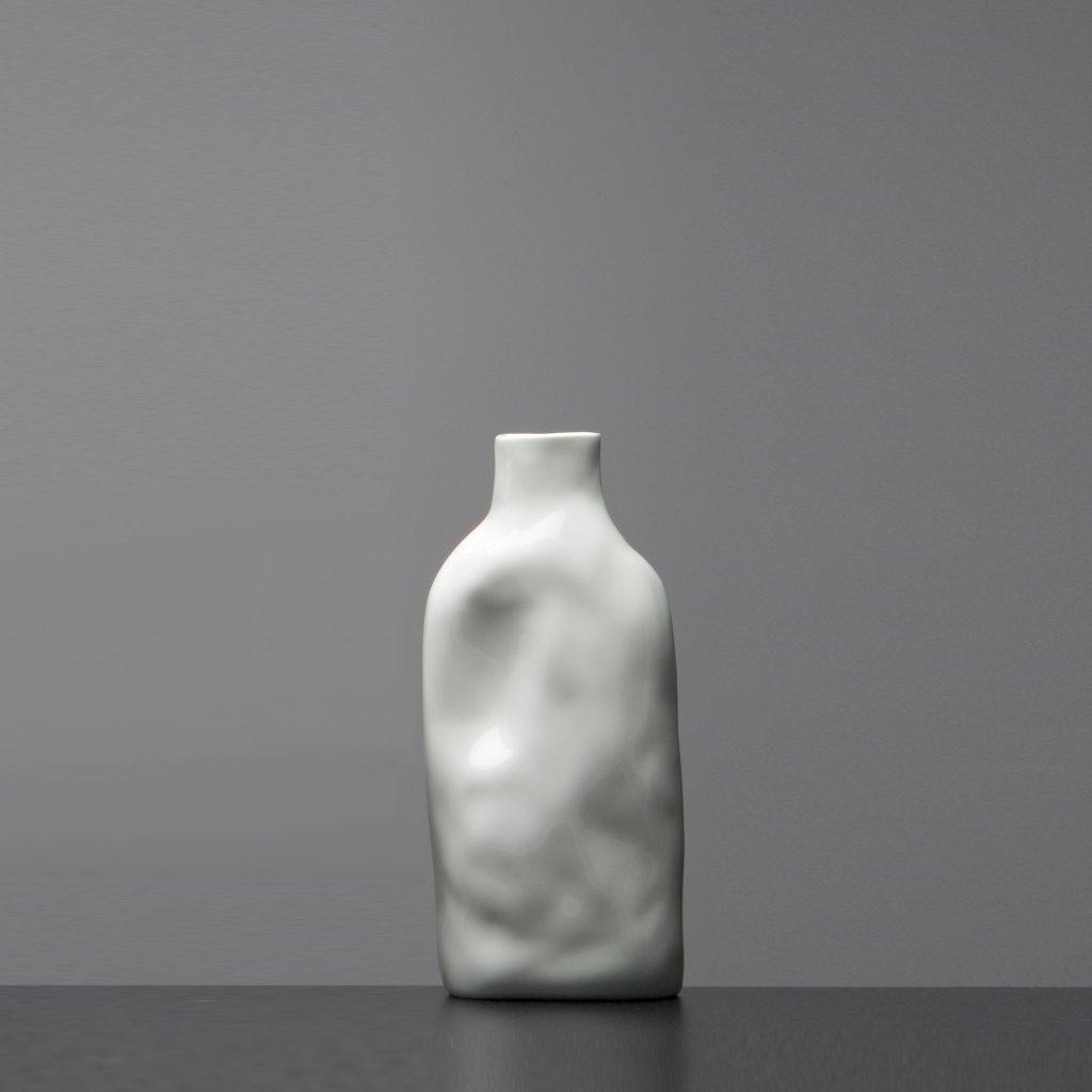 Porcelánová vázá bíla Abstract Vase White