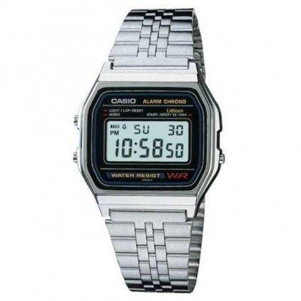 Silver Watch small silver + black