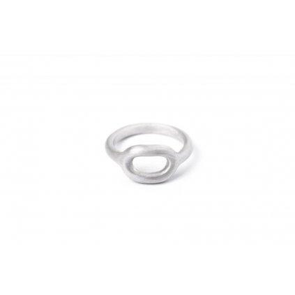 Prsten kolečko, ovál