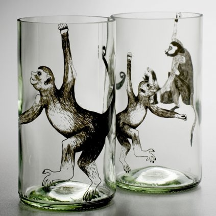 Skleička Lemonade Monkey od Jakuba Bedycha ze studia Qubus