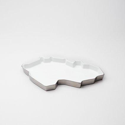 qubus maxim velcovsky republic tray silver white
