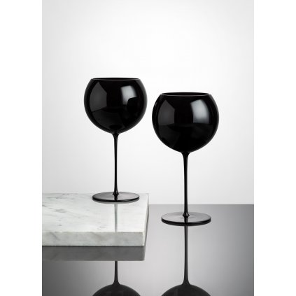 Bubble Glass wine set of 2 pcs