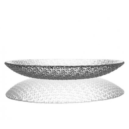 bomma bubbles large crystal plate 34cm