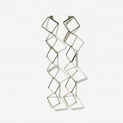 Karla Olsakova CUBE drop earrings top NURA minimal jewellery shop 5dc2958fe52c7