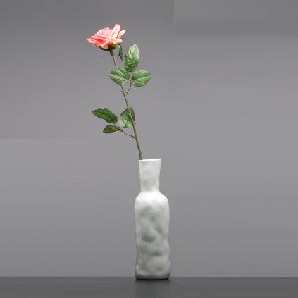 Porcelánová vázá bíla Abstract Vase White Od Maxima Velčovského