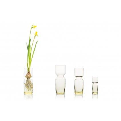 Váza Aeris žlutá