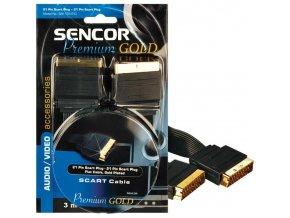 SENCOR SAV 135-030 SCART GOLD 3M