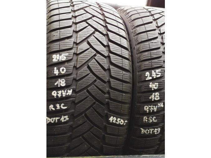 Dunlop 245/40/18 97V RSC
