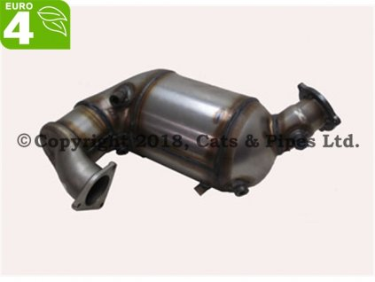 DPF filter Audi A5 3.0 TDi Coupe 07/2008-12/2010 177 kW/CAPA