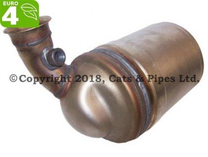 DPF filter Mini Cooper 1.6 TD R55 11/2007-12/2010 81 kW/W40D16, 9HZ