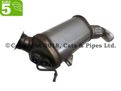 DPF filter BMW X1 2.0d E84 01/2013-04/2015 85 kW/N47D20U1