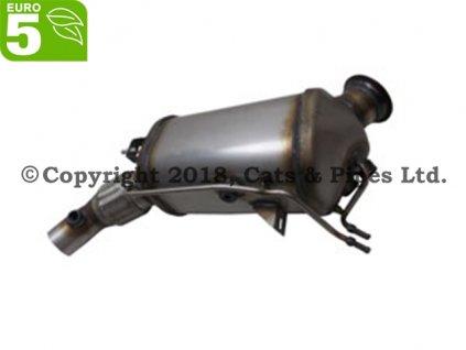DPF filter BMW 518d F10 04/2013-03/2015 105 kW/N47D20C