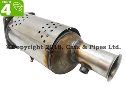 DPF filter Citroen C4 Grand Picasso 2.0 HDi 10/2006-12/2010 103 kW/RHJ (DW10BTED4), RHR