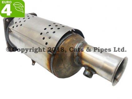 DPF filter Citroen C4 2.0 HDi 08/2008-03/2010 103 kW/DW10BTED4, RHR