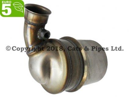 DPF filter Citroen C4 1.6 HDi od 11/2004 68 kW, 82 kW, 84 kW/DV6TED4, 9HX, 9HY, 9HZ, 9HR (DV6C), 9HL
