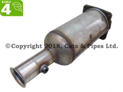 DPF filter Citroen C5 2.0 HDi 04/2001-09/2004 82 kW,RHZ (DW10ATED), RHS