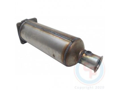 DPF filter Peugeot 407 2.2 HDi 07/2006-12/2010 127 kW/4HT (DW12BTED4)