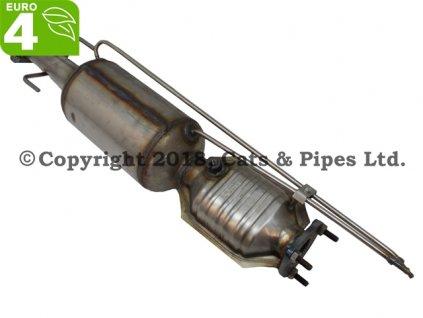 DPF filter Chevrolet Cruze 2.0 CDi 07/2009-06/2010 92 kW/Z20S1