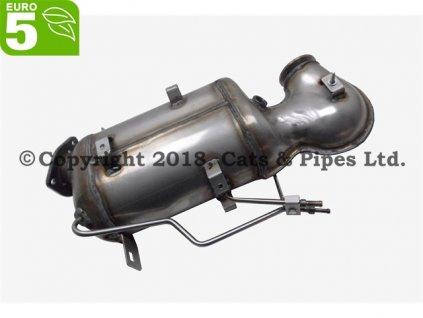 DPF filter Chevrolet Captiva 2.2 CDi 03/2011-04/2015 120 kW/Z22D1