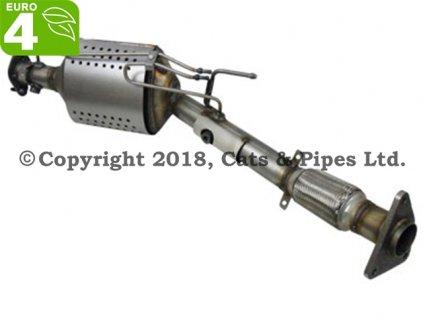 DPF filter Nissan X-Trail 2.0 DCi 06/2007-12/2010 110 kW/M9R, M9R740