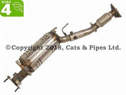 DPF filter Nissan Qashqai+2 2.0 DCi 03/2007-12/2010 110 kW/M9R832, M9R, M9R833