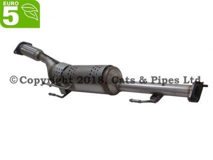 DPF filter Nissan Juke 1.5 DCi 10/2010-12/2014 81 kW/K9K, K9K410, K9K636