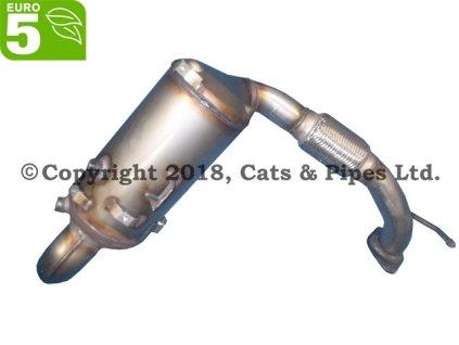 DPF filter Ford Fiesta 1.6 TDCI 07/2010-12/2015 70kW/TZJA, T3JA, C16DSOX