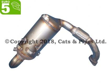 DPF filter Ford S-Max 1.6 TDCi 12/2010-04/2015 84 kW/T1WA, T1WB, T1BB