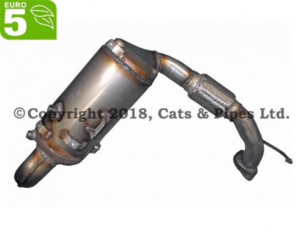 DPF filter Ford C-Max 1.6 TDCi 09/2010-03/2015 84 kW/T1DB, T1DA