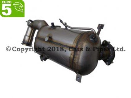 DPF filter Fiat Doblo 2.0 MJTD 01/2010-12/2015 101kW/263A1.000