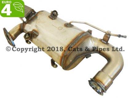 DPF filter Opel Insignia 2.0 CDTi 08/2010-12/2010 118 kW/A20DTH
